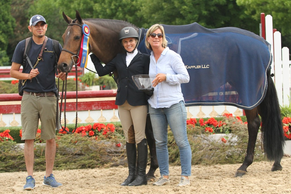 Baroness Blixen and Kiersten Litzsinger, with trainer Katie Kappler and groom Sam Mendoza $1,000 Amateur Adult Hunter 36-49 Champion $2,500 NAL Adult Hunter Classic presented by the Ianello Family $500 Marshall & Sterling Adult Hunter Classic Rider Style Award Adult Amateur