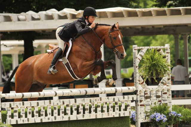 Rider Style Award Amateur Jane Gaston, riding Because