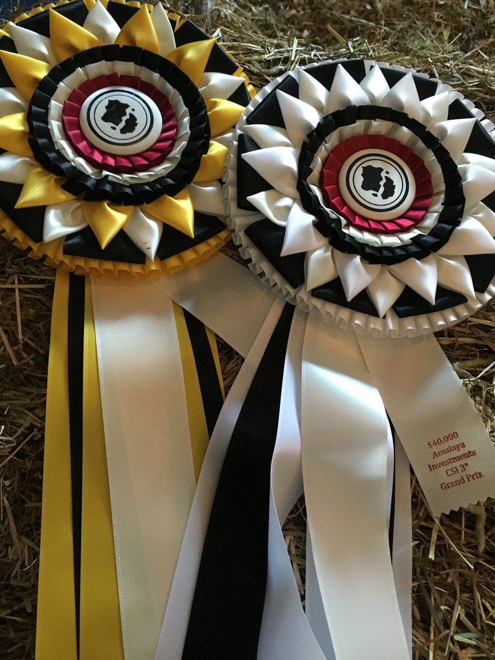 The beautiful ribbons at Split Rock Jumping Tour