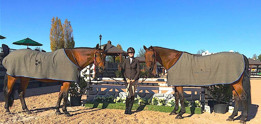 Kira Telford and CR Moet and Calistoga Gold