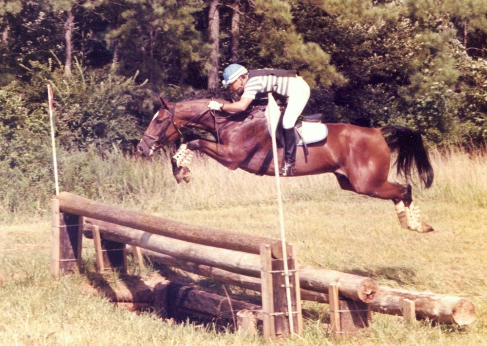 Steven Castillo dabbled in jumping and eventing. Photo courtesy of Steven Castillo