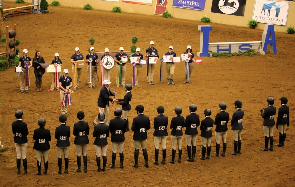 Riders are encouraged to apply for the wide range of IEF scholarships and awards. Coaches are urged to recognize outstanding students with nominations. Photo by Tyler VanVelsen