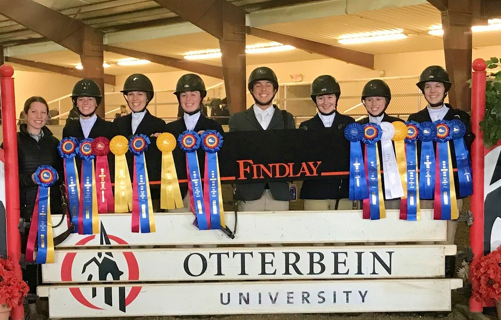 Zone 6 Champions, University of Findlay. Photo by Heather Pinnick