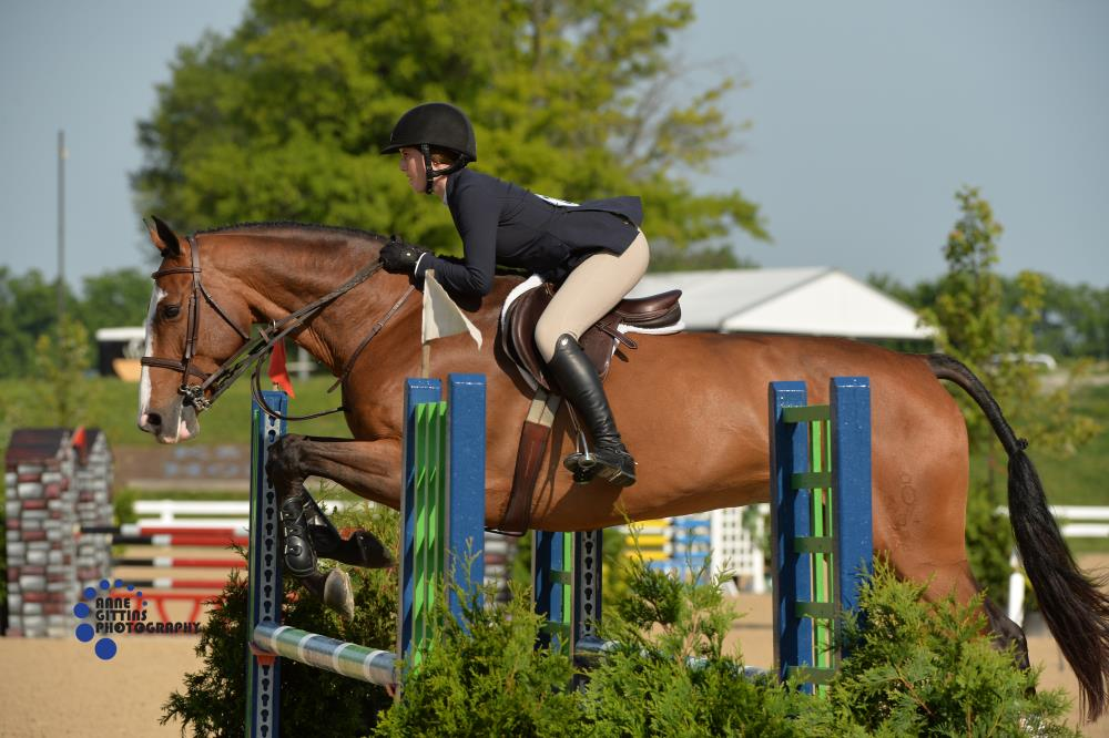 Eliza Kimball and Cashman. Photo by Anne Gittins Photography