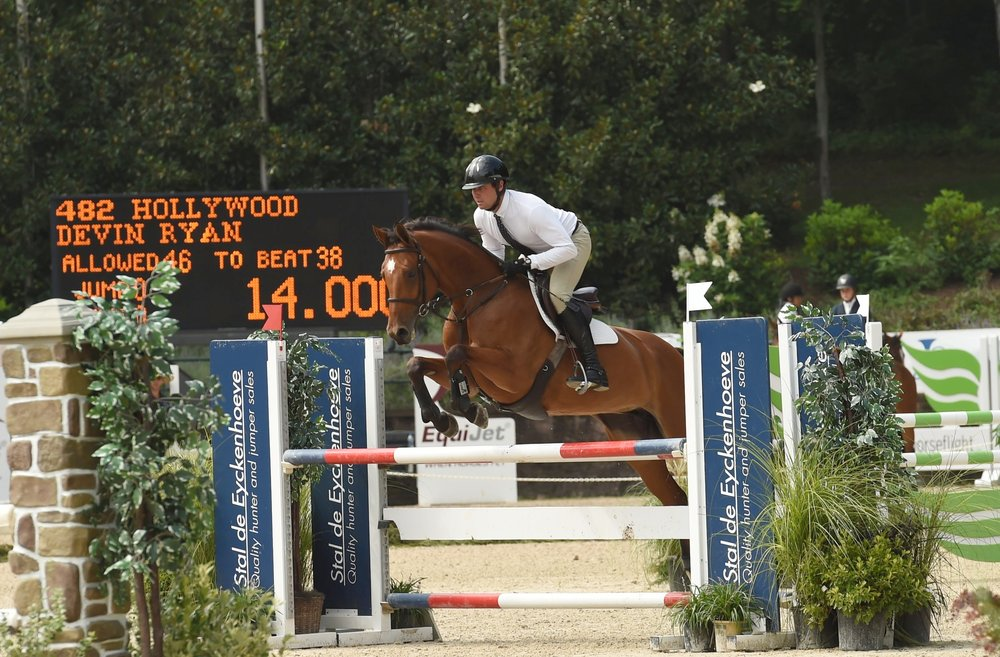 Devin Ryan and Hollywood. Photo by Anne Gittins Photography