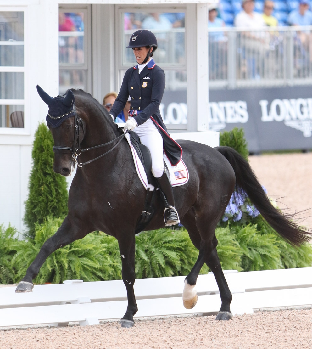 Brooke USA Ambassador Kasey Perry-Glass and Goerklintgaards Dublet were  members of the U.S. silver medal team. Photo by Sue Weakley