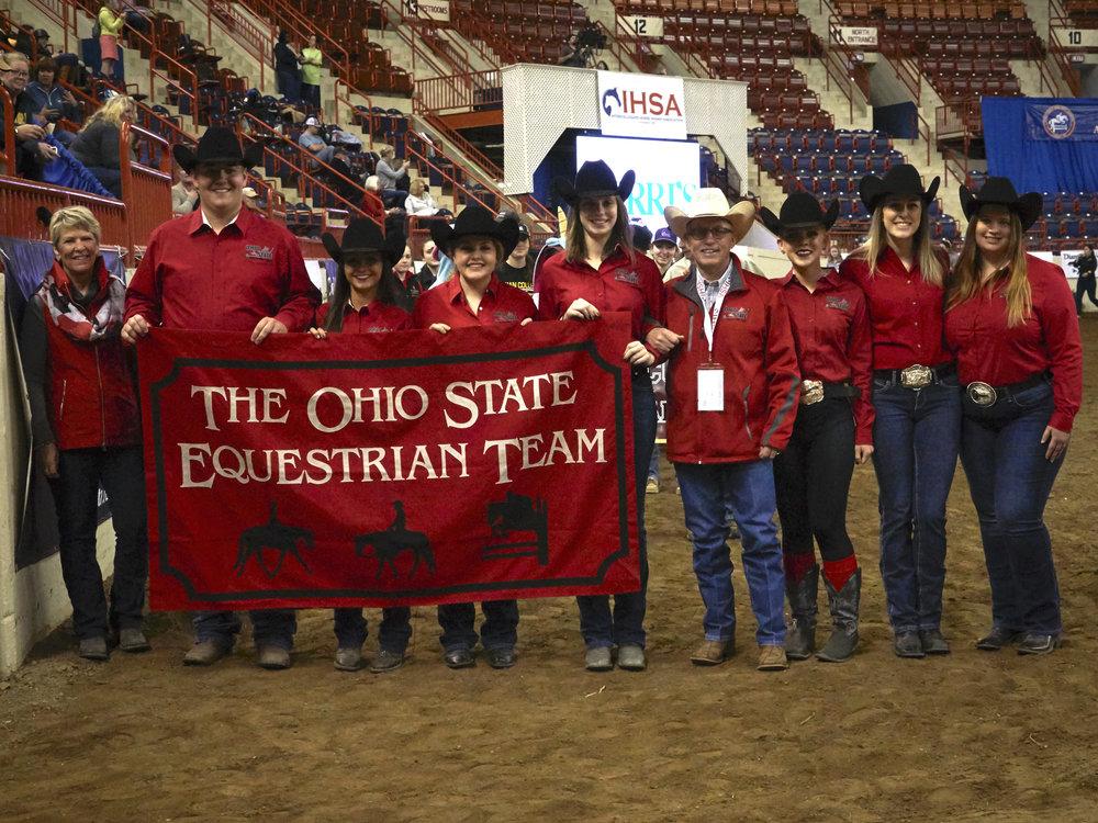 The Ohio State University team. Photo by Lisa Giris
