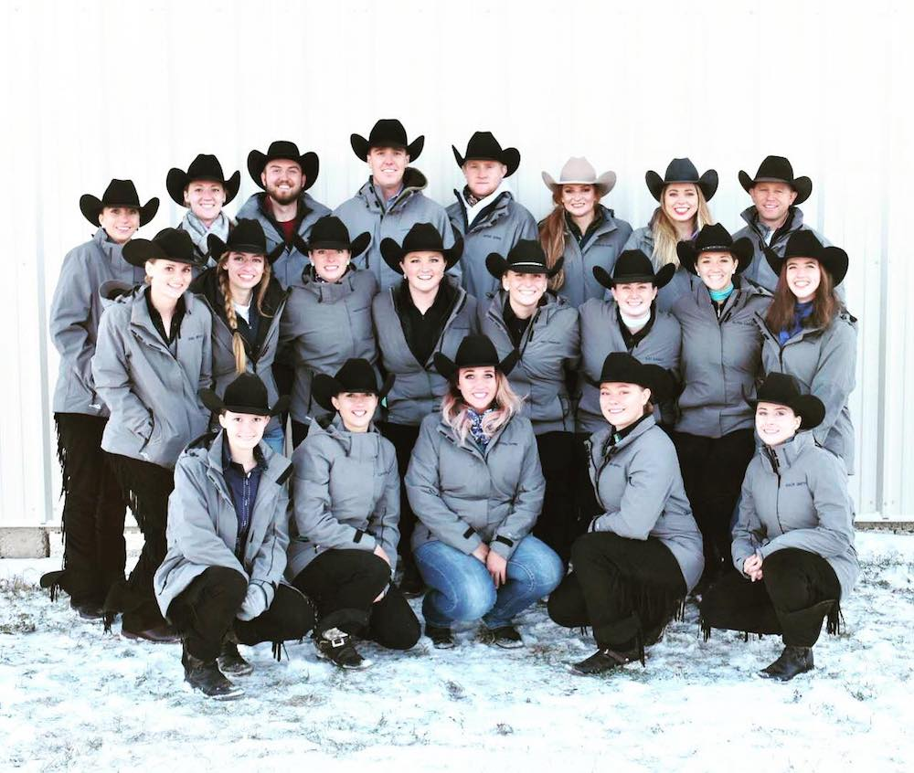 The six-time regional champion Utah State University IHSA Western Team. Photo Courtesy of Utah State Equestrian Team.