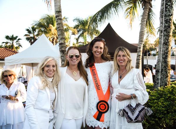 Dawn and Caroline Adams, Brooke USA Ambassador J.J.Tate and Alessandra Schwartz