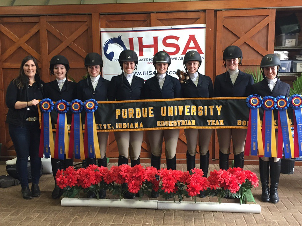Purdue University, with 44 points, won the Zone 7 championship. West Texas A&M earned 34 points and reserve champion honors and will compete in join the teams in Syracuse. Photo by Laura Lucas