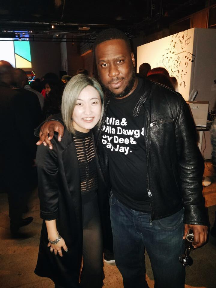 Annalé with Robert Glasper.