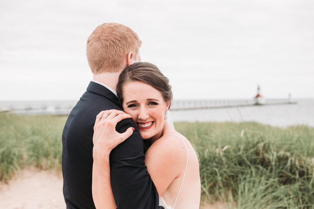 Saint Joseph, Michigan Award Winning Wedding Photographer