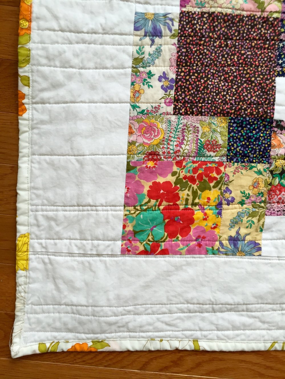 Cottage Charm Quilt detail