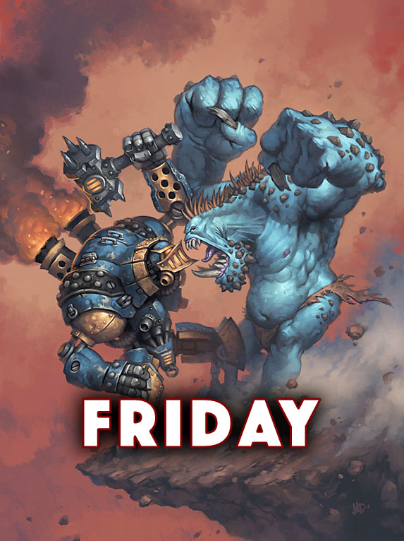 LVO 2020 Warmachine and Hordes Friday Pass