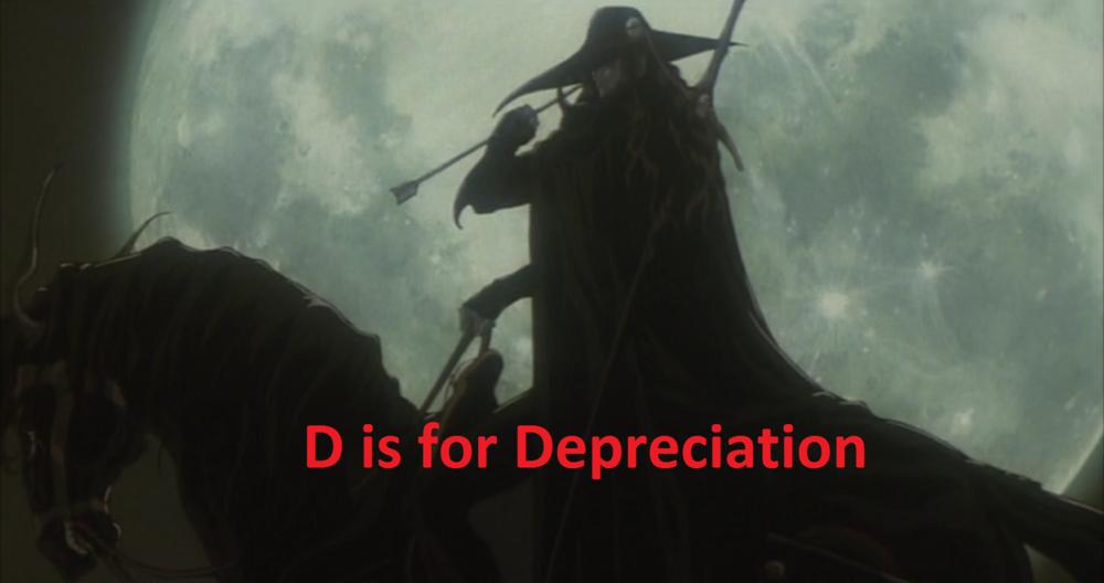 Vampire Hunter Depreciation