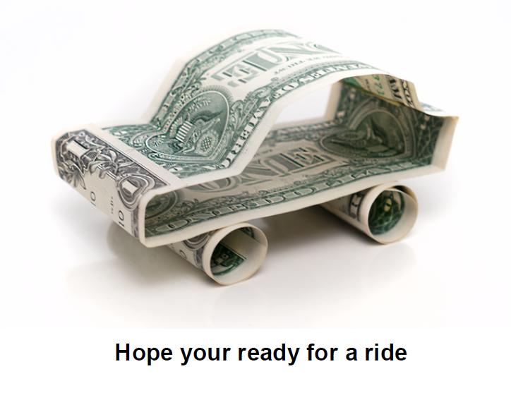 Money Car Ride