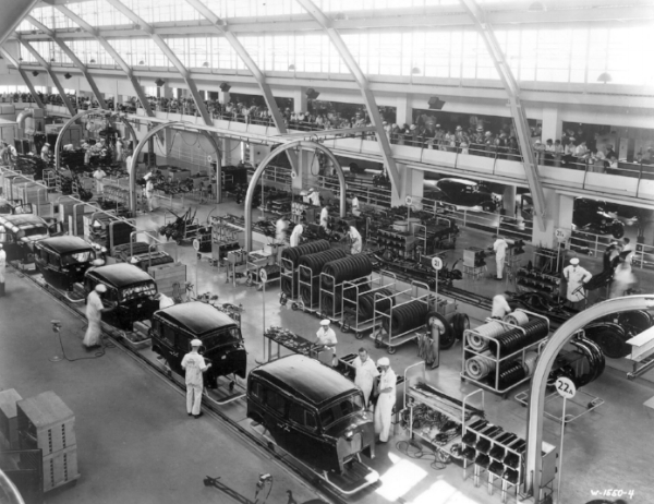 Consider the assembly line - you have to keep an eye on it to make sure things are going smoothly, but for the most part the system churns out product - and dollars.