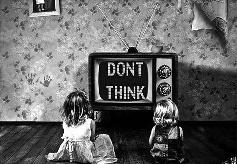 Don't Think, Just Buy.  They do it because it works - on most of us.