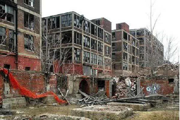 Or you can move to Detroit and buy a blown out apartment building for $500.