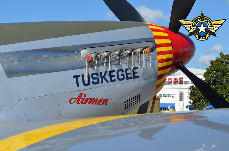Episode #78. The Tuskegee Airman at the Atlanta Warbird Weekend Part 1.