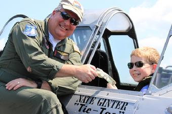 "Episode #50. Call sign ""Gintac"" and the Potomac Historic Warbird Formation Flight."