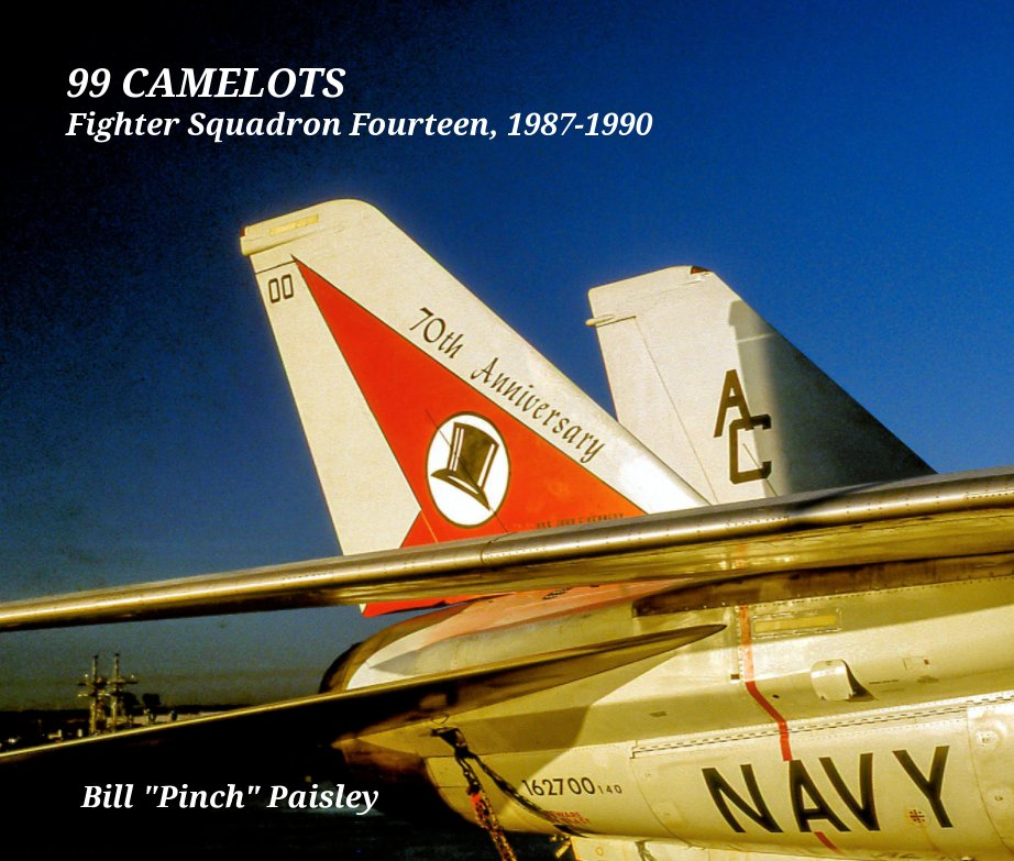 "Episode #86.  The F-14 with Veteran, Aviation, Author Bill ""Pinch"" Paisley."