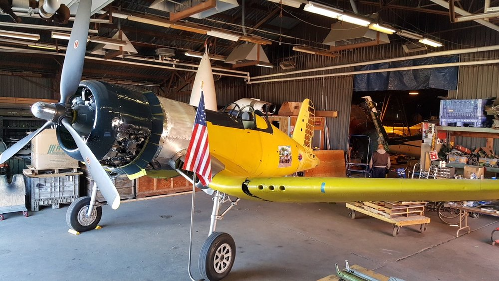 Episode #87.  The Corsair Restoration Project at the Connecticut Air and Space Center.