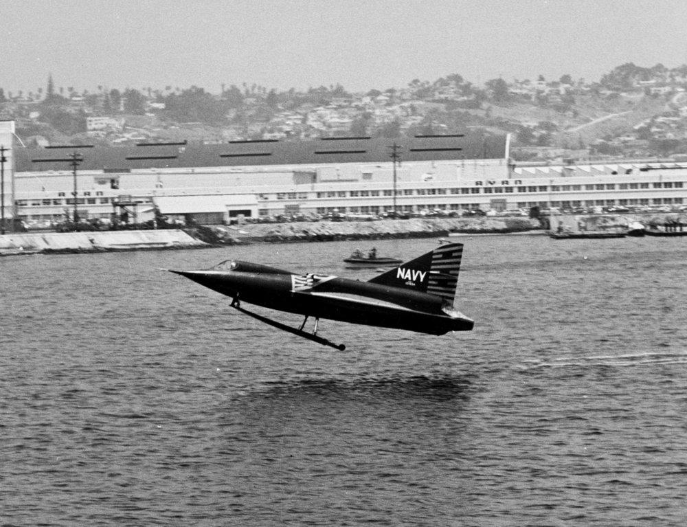 Figure 7. Convair F2Y Sea Dart by US Navy