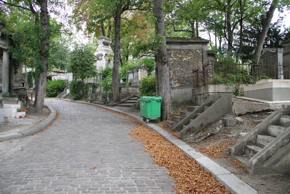 Pere Lachaise, Paris, France, 2011