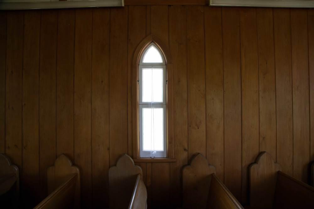 Church Window, Kaitaia, February 2016