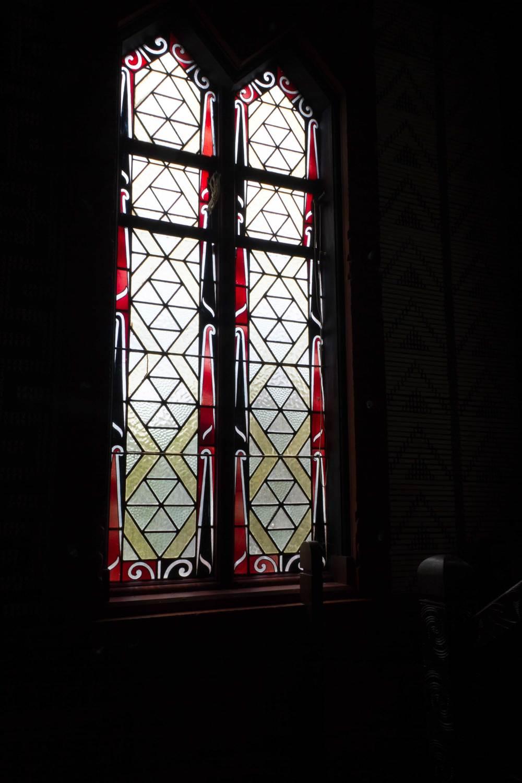 Window, St Mary's Memorial Chruch, Tikitiki, 2016***