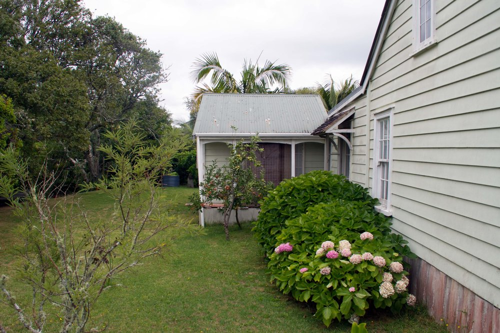 Backyard, Kororareka / Russell, Bay of Islands, 2017*