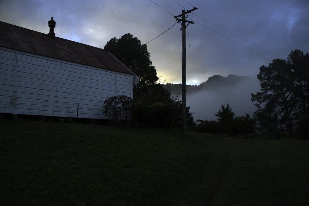 Fog in Whanganui, 2017