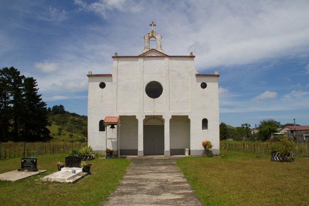 Waireia Church, Lower Waihou, on the way to Mitimiti, 2018