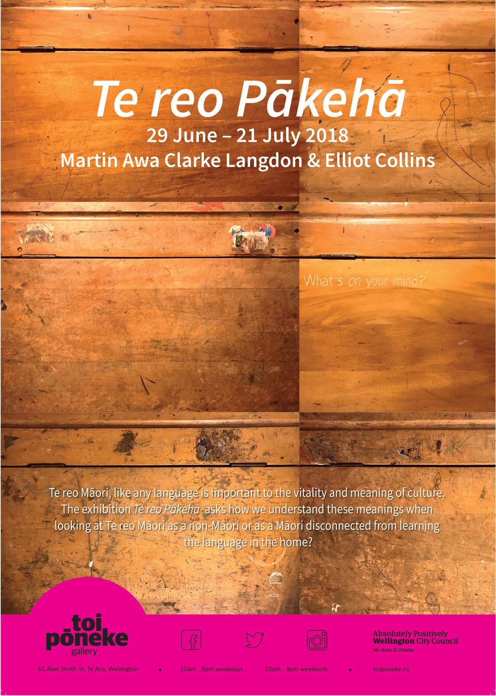 Te reo Pākeha - with Martin Awa Clarke Langdon
