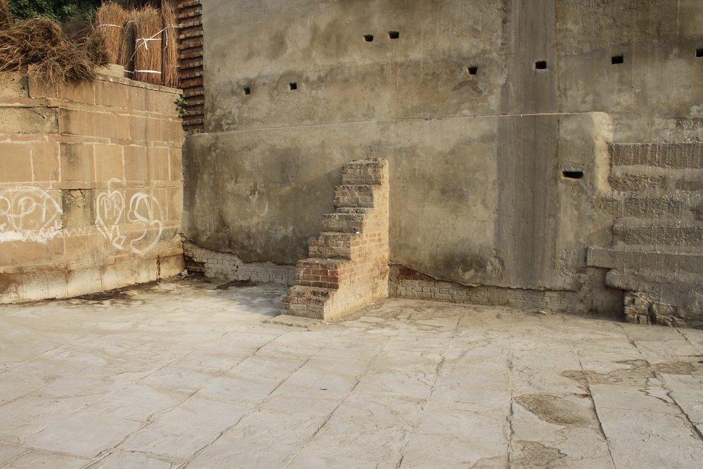 Copy of Steps not Ghats, 2018, Inkjet photograph on Ilford Galerie Prestige