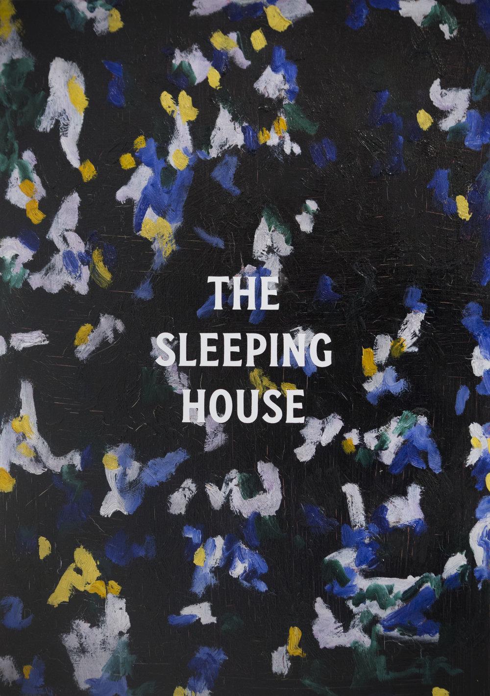 The Sleeping House, 2019, oil on board