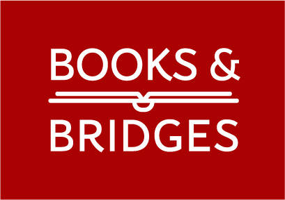 books&bridgesWhite on Redblack.jpg