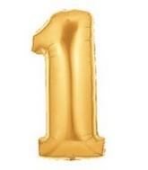 15841G Megaloon One Gold_mylar_balloons.jpg
