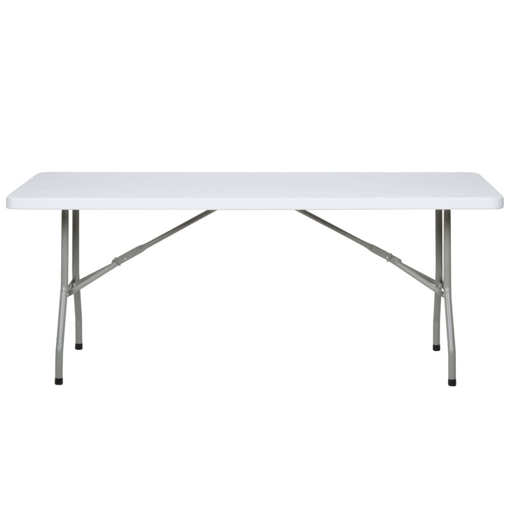 Rectangle Table - 6ft. - $7.00 each - (Table does NOT fold in half)