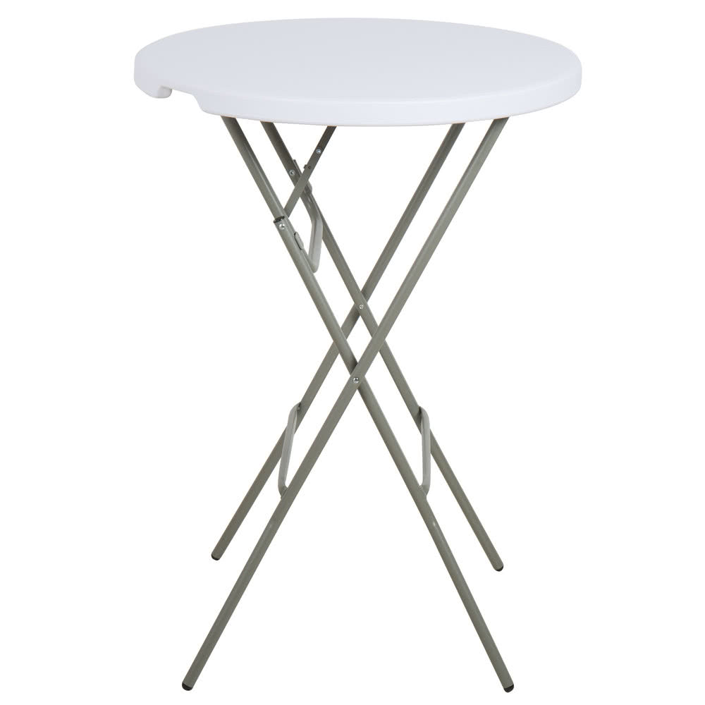 Cocktail Table - High Top - $10 each - (Table folds flat) 32 inch top
