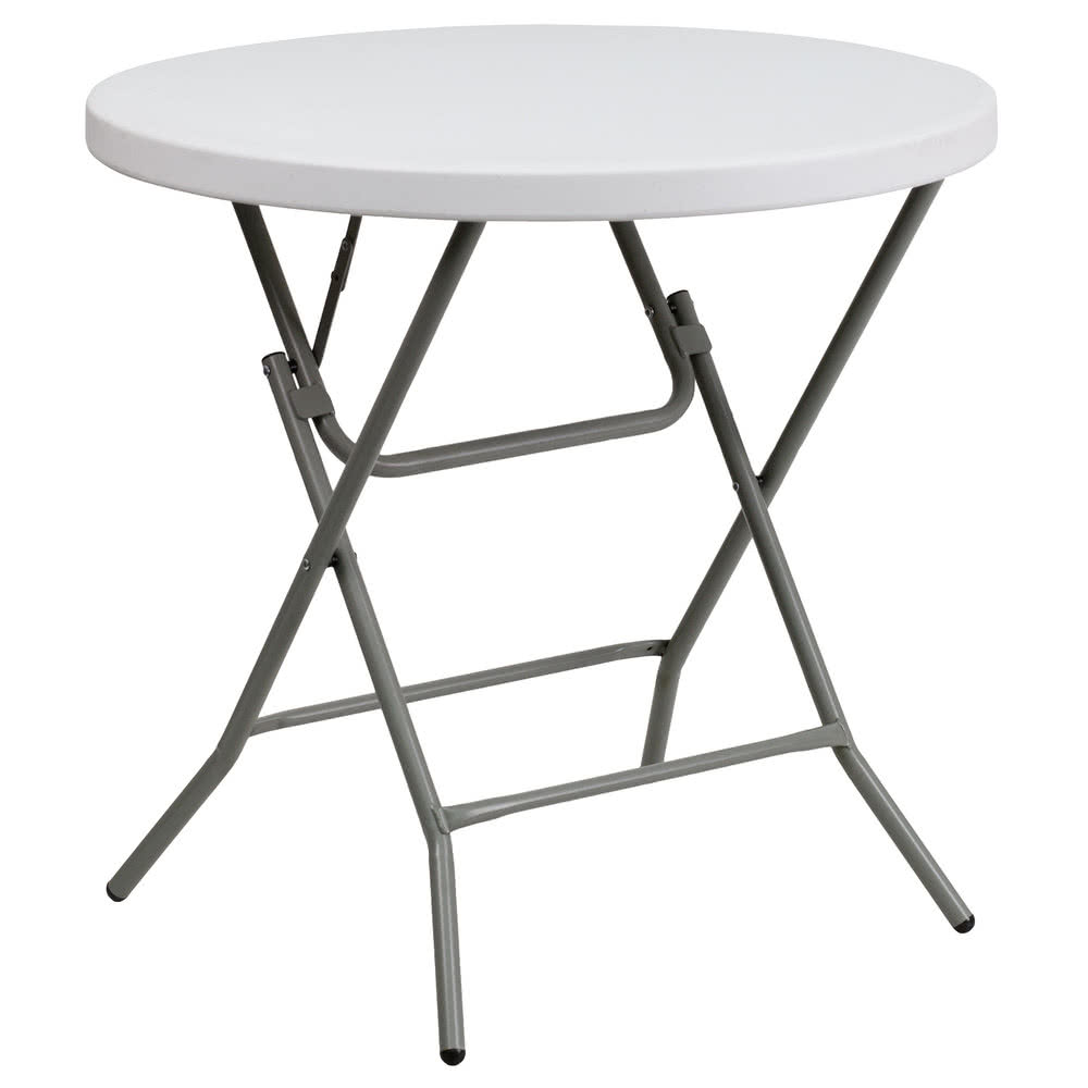Cocktail Table - Low Top - $10 each - (Table folds flat) 32 inch top