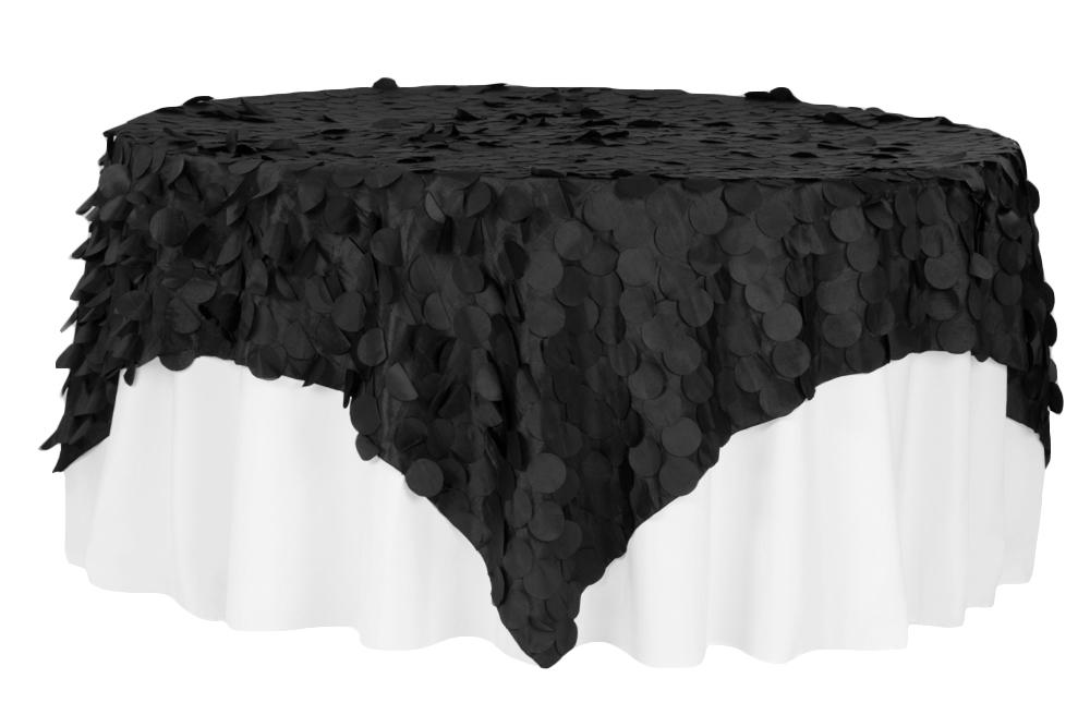 Petal-Circle-Taffeta-Square-Table-Overlay-90x90-Black.jpg