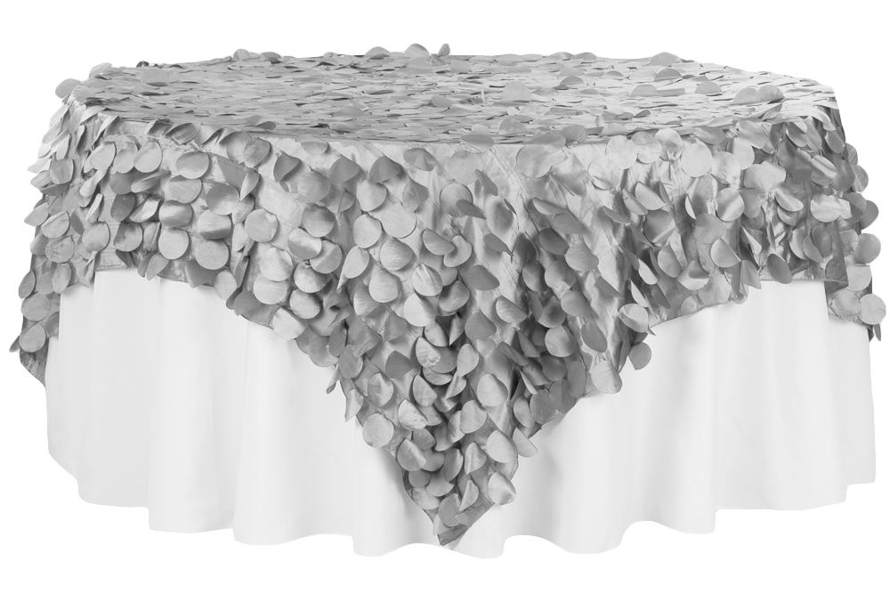 Petal-Circle-Taffeta-Square-Table-Overlay-90x90-Silver.jpg