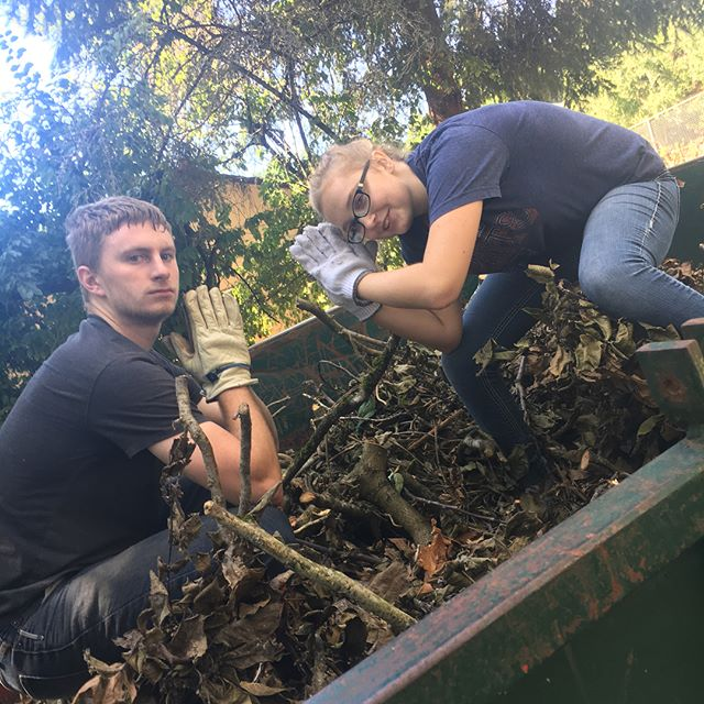 Some of our Mexico team is starting to fundraise! We spent a couple hours loading up piles of debris to haul away. Unfortunately, we could only fit 2/3 piles, but will be coming back the 24th, so mark your calendar! #mexicoteam #GPCC
