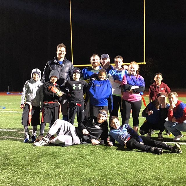 Our annual Turkey Bowl was a huge success! We had a blast, as usual. We played football, we ate food, we had a great time