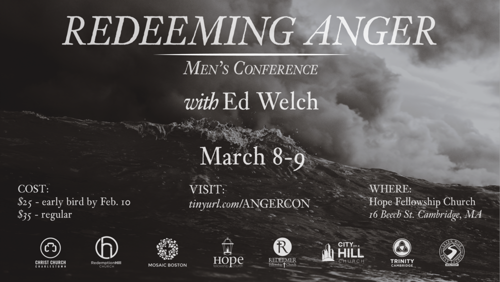 Men's Conference 2019 — Redeeming Anger