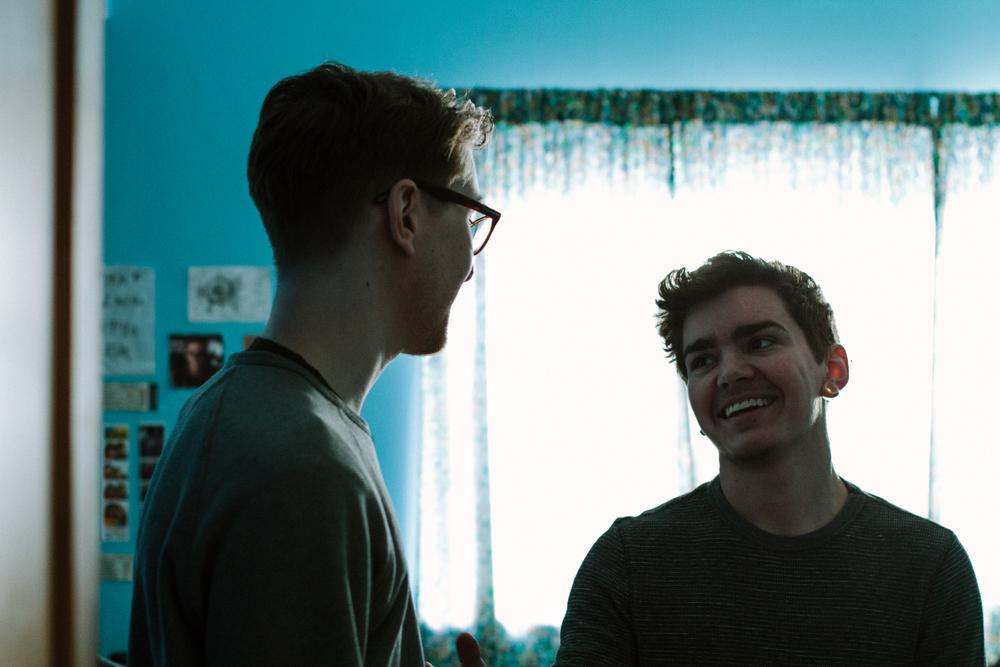 Conner DeMita (left), Elliot Fletcher (right)