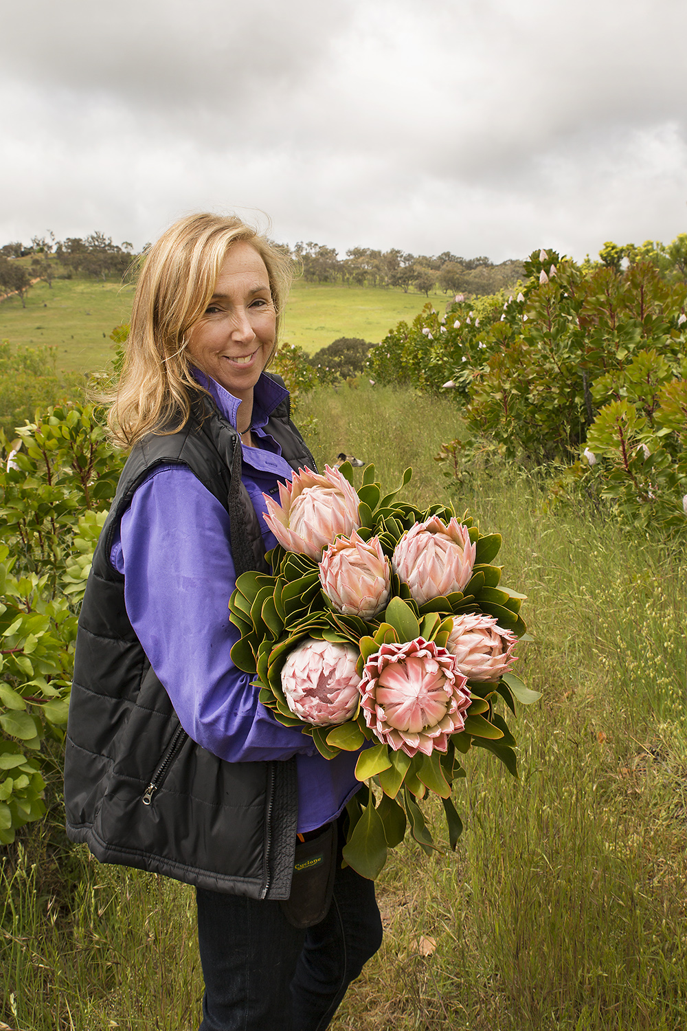 Fiona McGregor, Stoney Creek Wildflower Farm, Duramana, NSW SS.jpg
