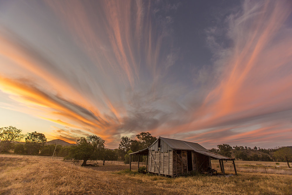 The Old Grain Shed. One of my images that appear in the Outback Creative feed :)